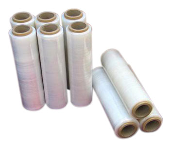 "Blue 4G Stretch Wrapping Film 18""x450 18Mic Core 3"" (1kg)"