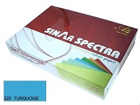 SINARSPECTRA Color Copy Paper A4 80gsm TURQUOISE#220