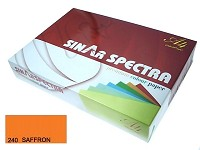 SINARSPECTRA Color Copy Paper A4 80gsm SAFFRON#240