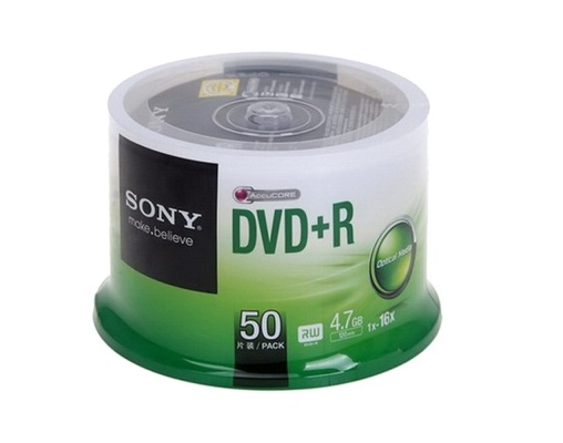 SONY DVD+R(+) (16X) 4.7GB 50隻/筒