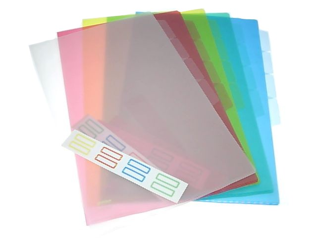 Plastic Folder 3-Layer F4 Yellow