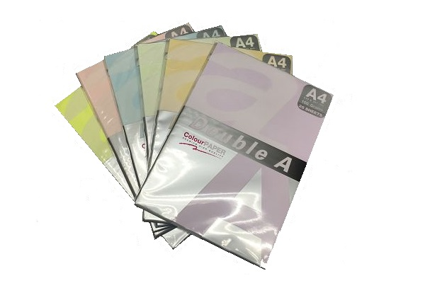 DOUBLE A Color Copy Paper A4 80gsm (Purple)