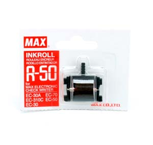 MAX R-50 Ink Roller (Red)